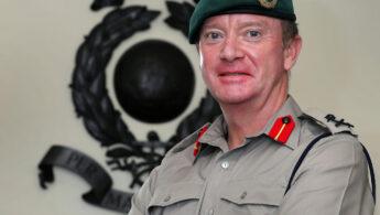 Major General Matt Holmes CBE DSO